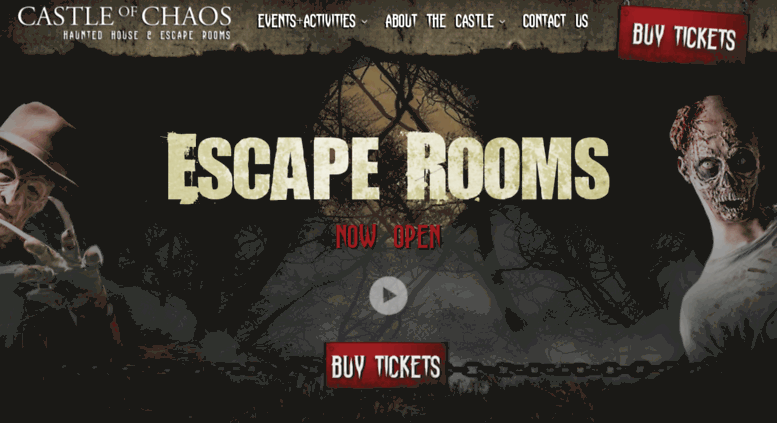 Access castleofchaos com  Castle of Chaos: Escape Rooms, Haunted