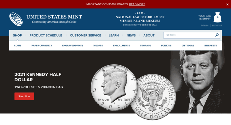 Access catalog usmint gov  US Mint Catalog - Silver and Gold