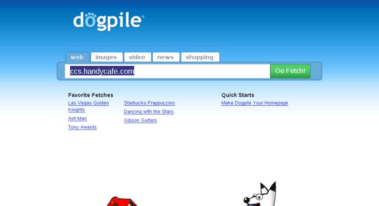 Access ccs handycafe com  Dogpile Web Search