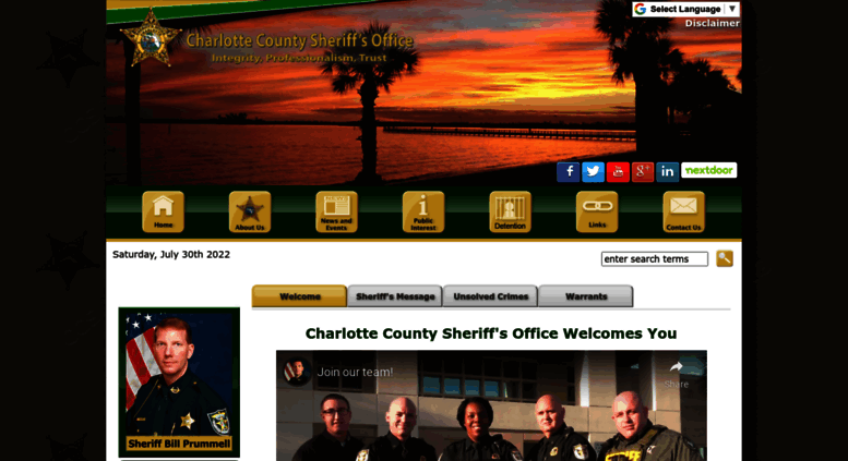 Access ccso org  Charlotte County Sheriff's Office Home
