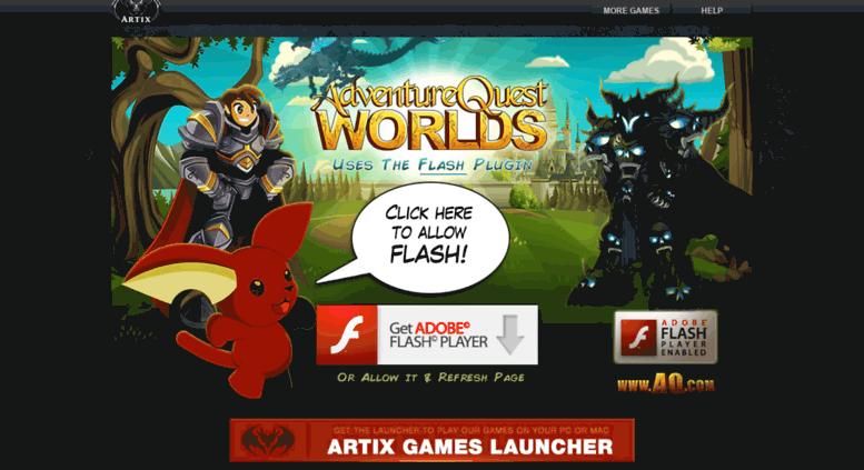Access cdn aqworlds com  AdventureQuest Worlds on aq com