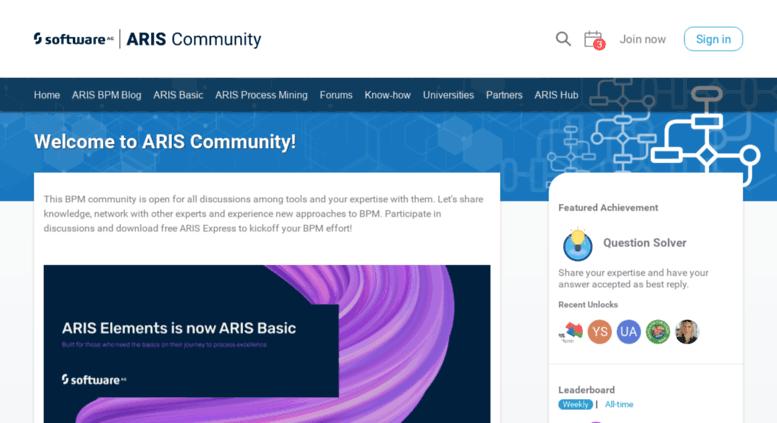 Access cdn ariscommunity com  Business process management