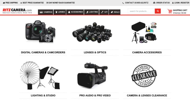 Access cdnl ritzcamera com  Buy Digital Cameras