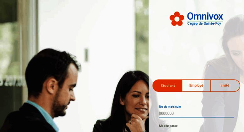 Access cegep-ste-foy-empl omnivox ca  Accès impossible