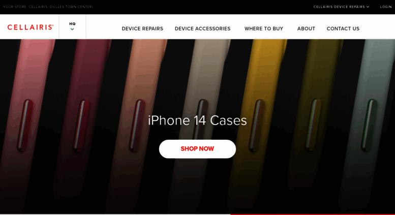 Access cellairis com  Cell Phone Repair, Cases, Screen Protectors