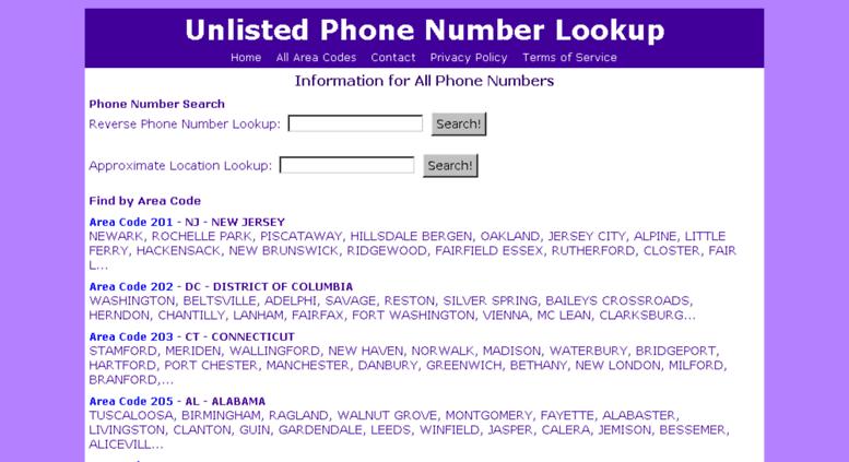 Site Information Navigation