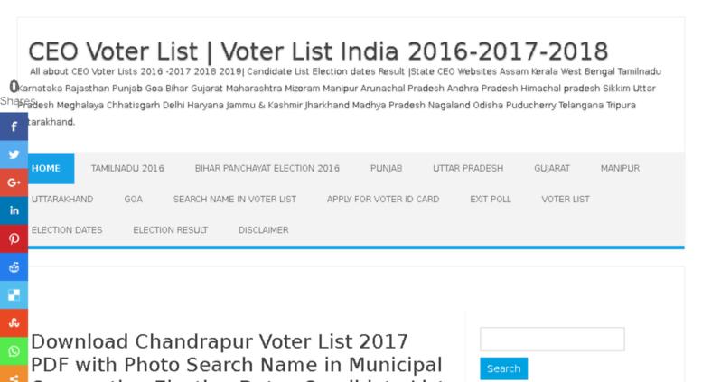 voters status maharashtra