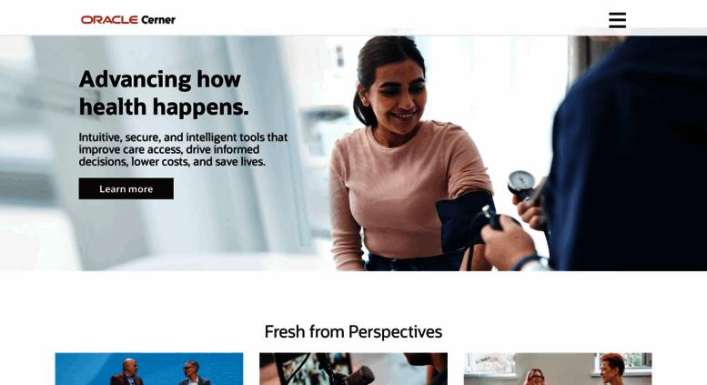 Access cerner com  Home | Cerner