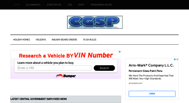 Access cgstaffportal in  CENTRAL GOVT EMPLOYEES NEWS – Quick updates