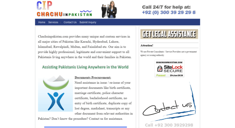 Access chachuinpakistan com  Birth Certificate Pakistan
