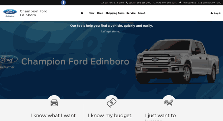 Champion Ford Erie >> Access Championfordedinboro Dealerconnection Com Champion