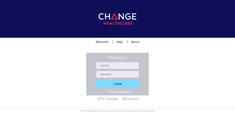Access changehealthcareuniversity netdimensions com  Welcome