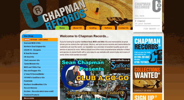 Access chapmanrecords co uk  Chapman Records   Northern Soul