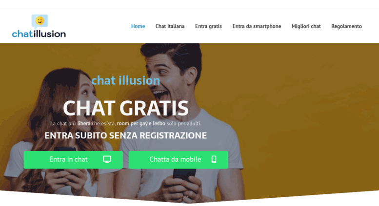 Chat gratuita per single senza registrazione