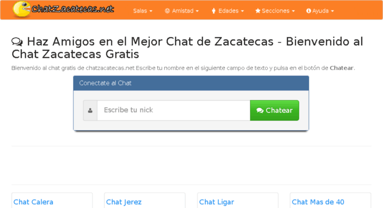 Chatear Gratis - Chat Sin Registro Libre