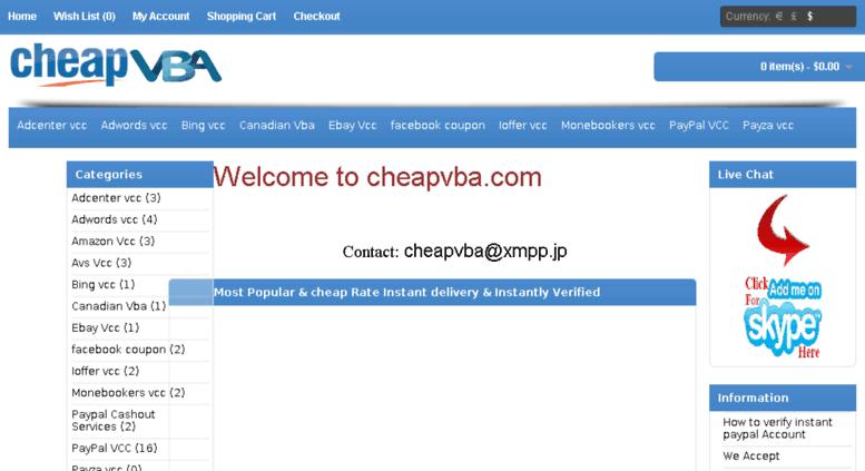 Access cheapvba com  cheapvba com provide secure virtual