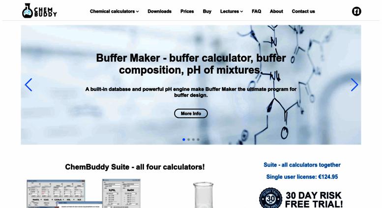 Access chembuddy com  Chemical calculator - general