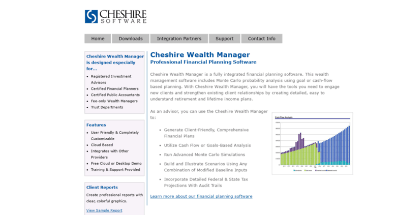 Access cheshire com  Comprehensive Financial Planning
