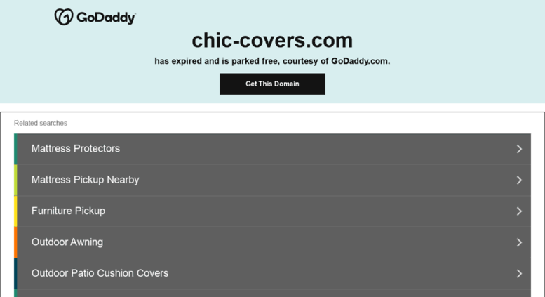 Access chic-covers.com.