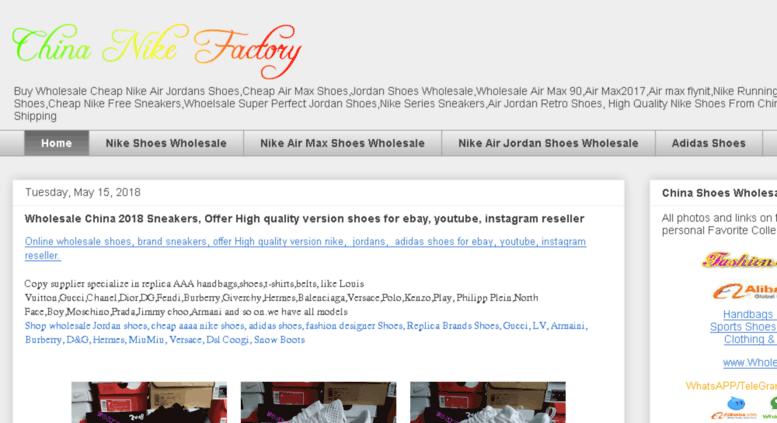 premium selection d0063 e7a41 china-nike-factory.blogspot.com screenshot