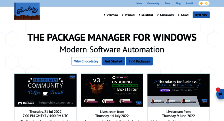 Access chocolatey org  Chocolatey - The package manager for