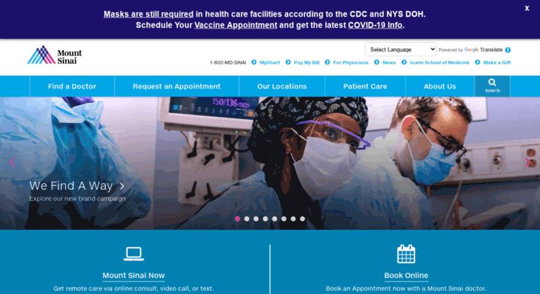 Access chpnet org  Mount Sinai Health System - New York City