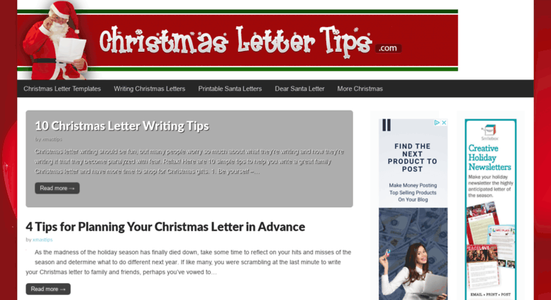 Access Christmaslettertips Com Christmas Letter Tips Com