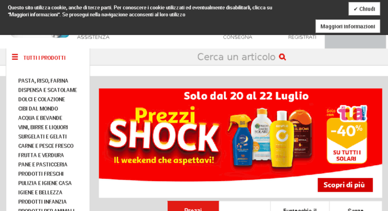 Access Chronodrive It Simply Auchan Spesa Online A Milano