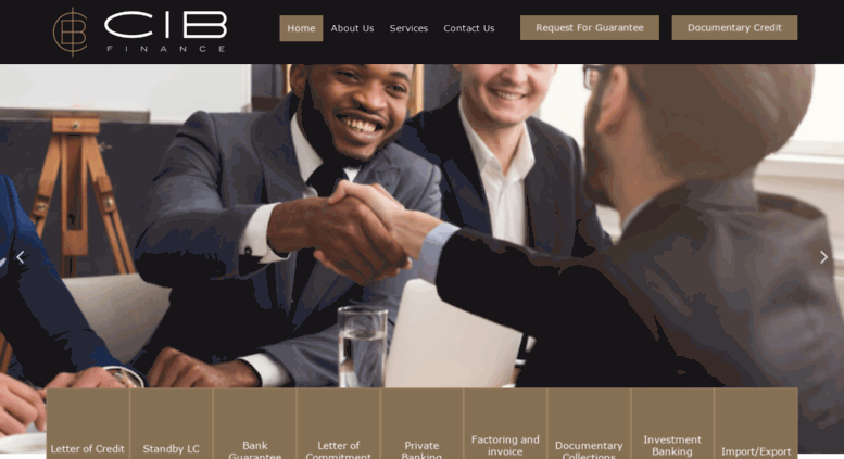 Access cib-lettercredit com  CIB Finance Paris | Letter of