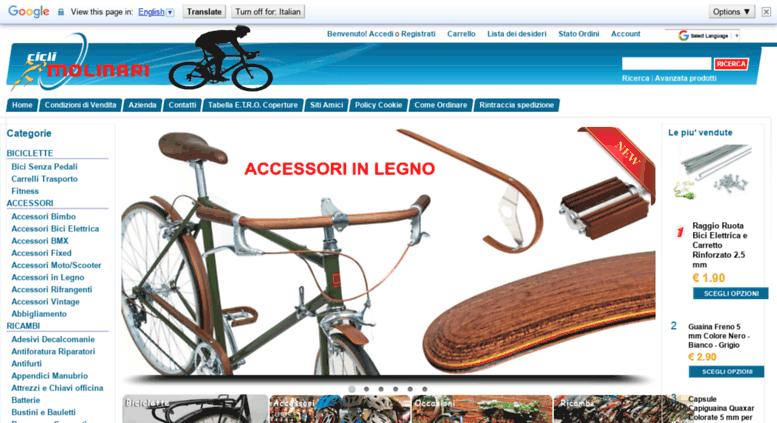 Nouvelle liste plutôt sympa pas mal Access ciclimolinari.it. Biciclette Molinari ricambi ed ...