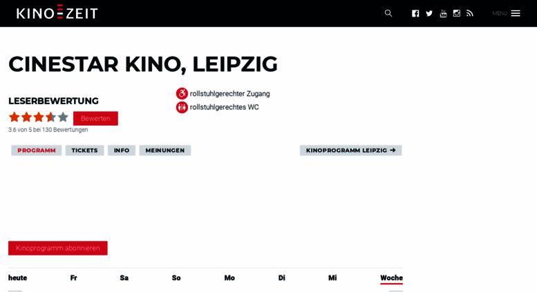 Kinoprogramm Leipzig Cinestar