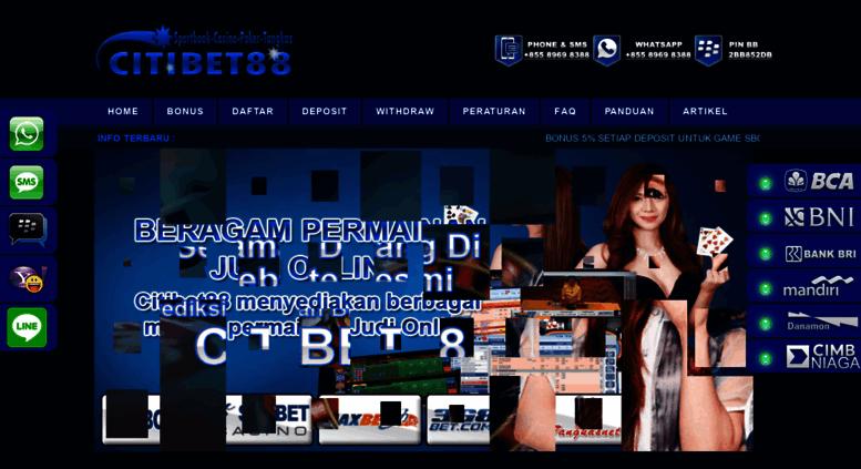 Access Citibet88 Net