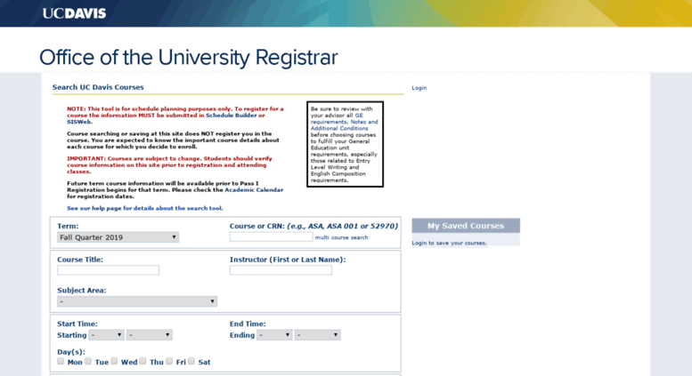 Uc Davis Academic Calendar.Access Classes Ucdavis Edu