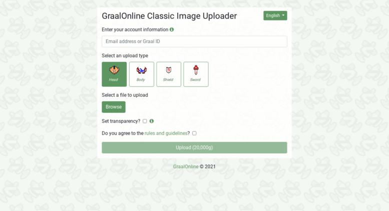Access classicupload graalonline com  GraalOnline Classic Image Uploader