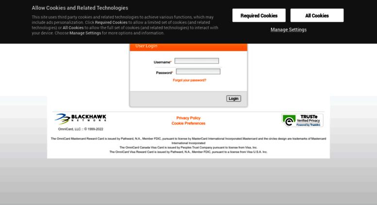 Access clients omnicard com  Login