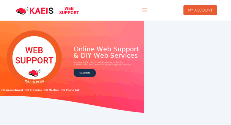 Access cloud kaeis net  KAEIS com – Web Support & DIY Web Services