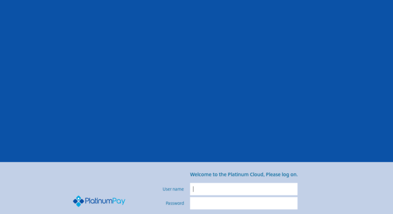 Access cloud platinumpay com  Netscaler Gateway
