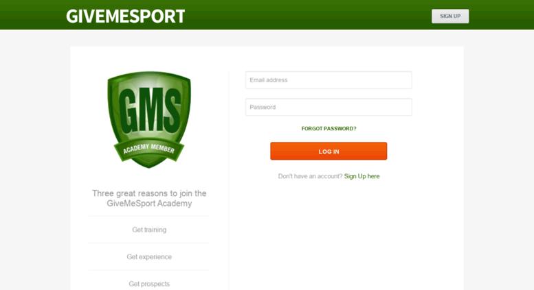 give me sport logo