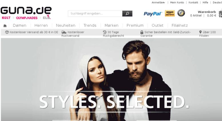 new product e213b 355d8 Access cms.guna.de. Streetwear, Fashion & Markenmode Online ...