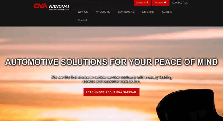 Cna National Warranty >> Access Cnanational Com Cna National Warranty Corp Industry