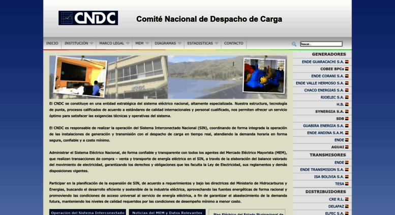 Access Cndc Bo Comite Nacional De Despacho De Carga Cndc