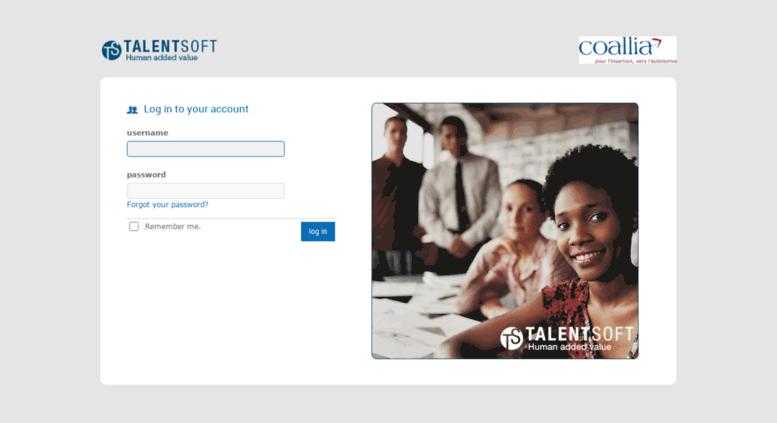 Access Coallia Talent Soft Com Talentsoft Login