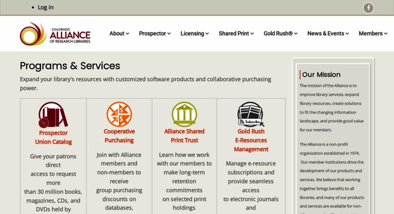 Access Coalliance Org Colorado Alliance Of Research Libraries