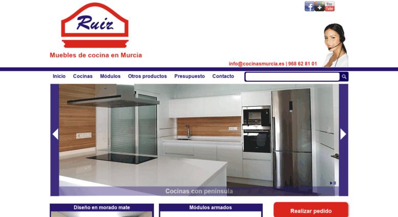 Access cocinasmurcia.es. Cocinas Murcia | Muebles de cocina en Murcia