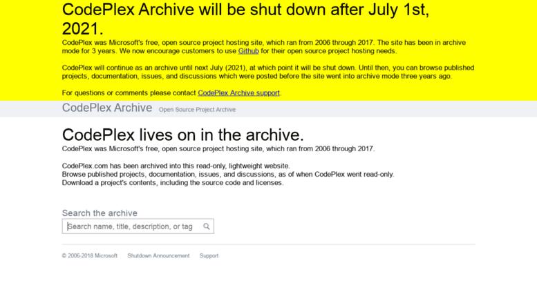 Access codecampserver codeplex com  CodePlex Archive