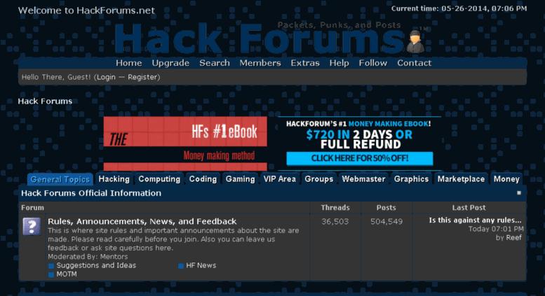Access coding-forums com  Hack Forums