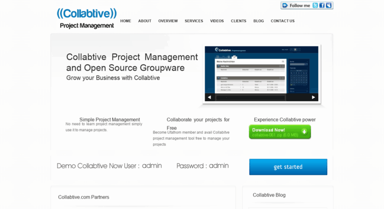 Access collabtive com  Collabtive Open Source Project