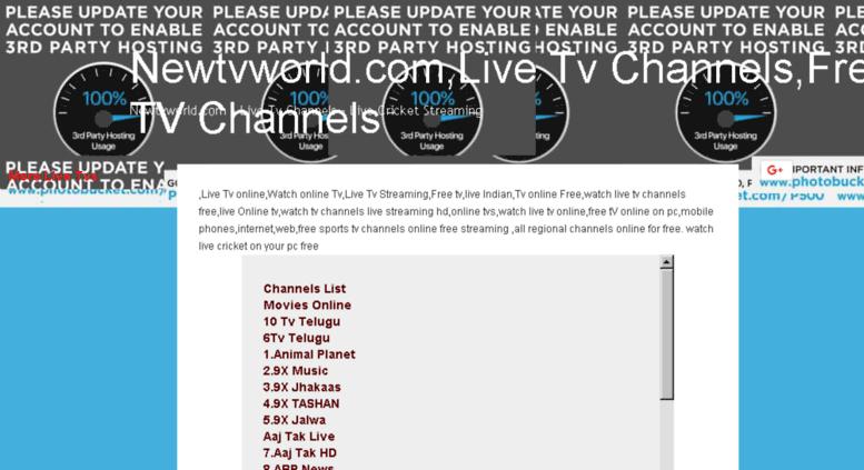 Access colorstvss blogspot in  Newtvworld com - Live Tv