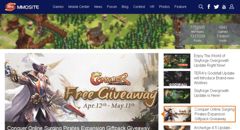 MMORPG Portal for free mmorpg rpg review news and