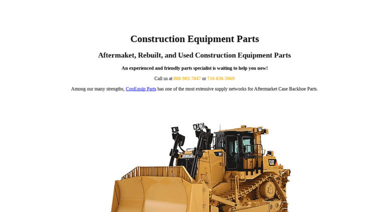 Access conequipment com  Construction Equipment Parts  New and used